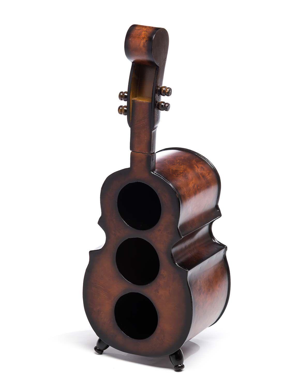 Estante de vino 60cm violonchelo Bass contrabajo botellas estante para para para botellas de vino soporte estante ad04ba