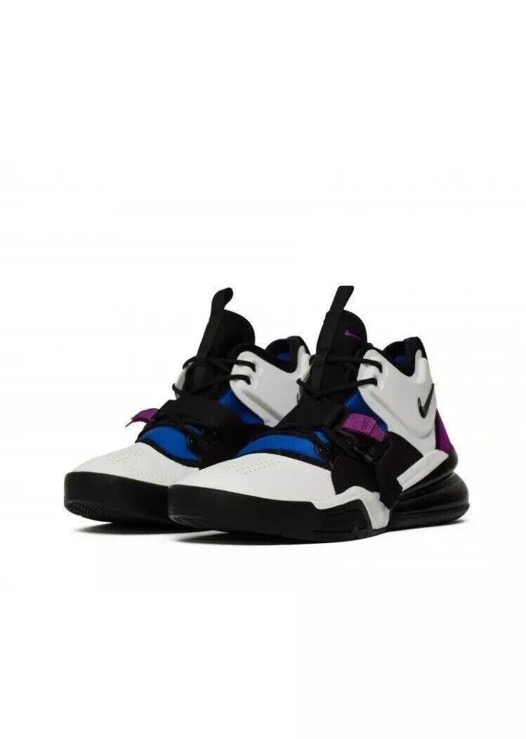 Nike Air Force 270 270 270 White Lyon bluee Bold Berry Black AH6772-101 Men's  sz 9 43215d