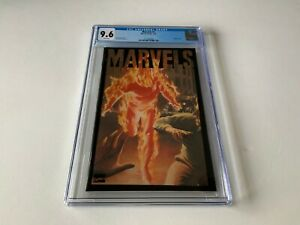 MARVELS-1-CGC-9-6-WHITE-PAGES-HUMAN-TORCH-MARVEL-COMICS-1994