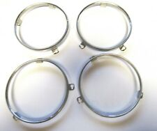68 69 70 71 72 73 74 75 Charger Challenger Roadrunner Headlight Retainer Rings Fits 1973 Barracuda