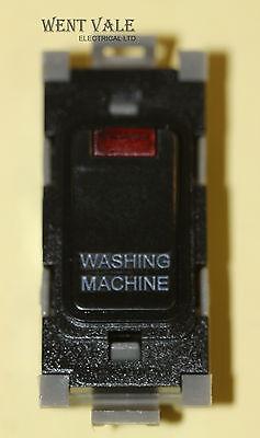Deta Gridswitch G3574BK 20a Double Pole Grid Switch Module Washing Machine New