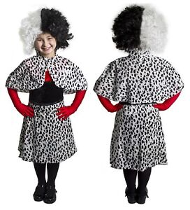 Kinder Dalmatiner Paar Bose Dalmatiner Hunde Lady Kostum Verkleidung