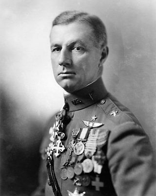 Billy Mitchell Wwi Uniform Portrait 8x10 Silver Halide Photo Print Other Militaria