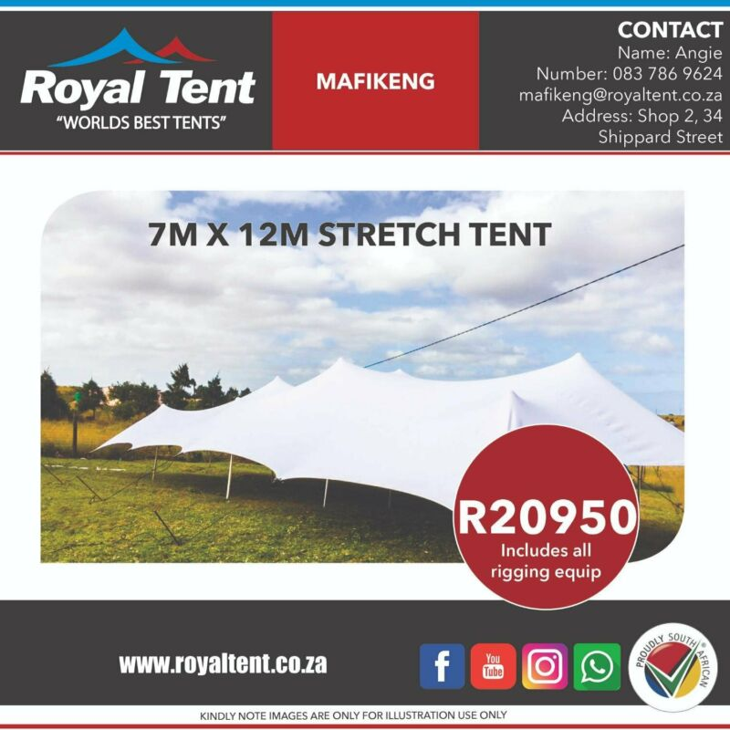 Stretch Tent Clearance Sale. Everything Must Go!!!!