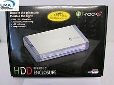 "I-ROCKS IR-9300C-SL 3.5"" ALUMINUM IDE HDD ENCLOSURE HOUSING IR-9300 *** NEW"