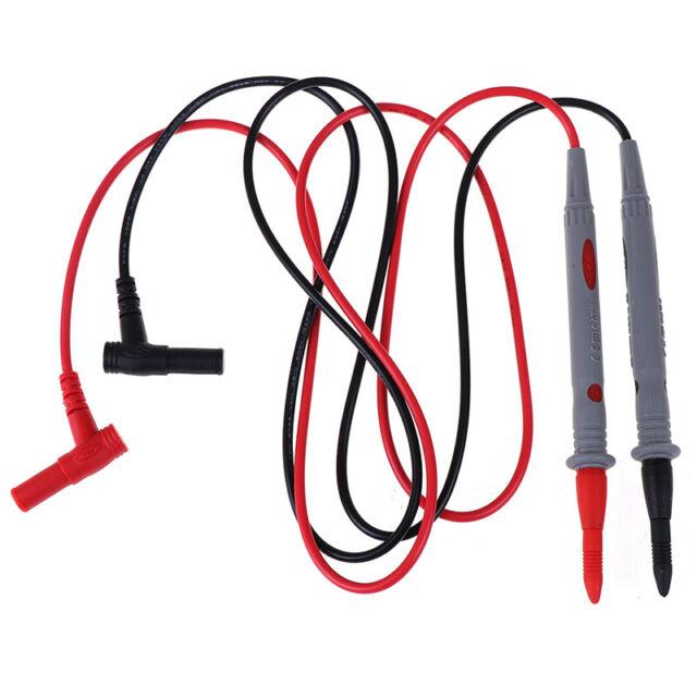 110cm Digital multimeter test lead probe cable SMD SMT needle tip 1000V 20A VR8Y