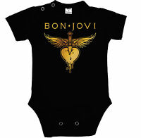 Baby Black Body, Bon Jovi 3 Rock Fun , Bodysuit Kurzarm/langarm