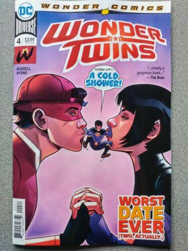 of 6 ~ VF//NM Book WONDER TWINS #4a 2019 DC Universe Comics