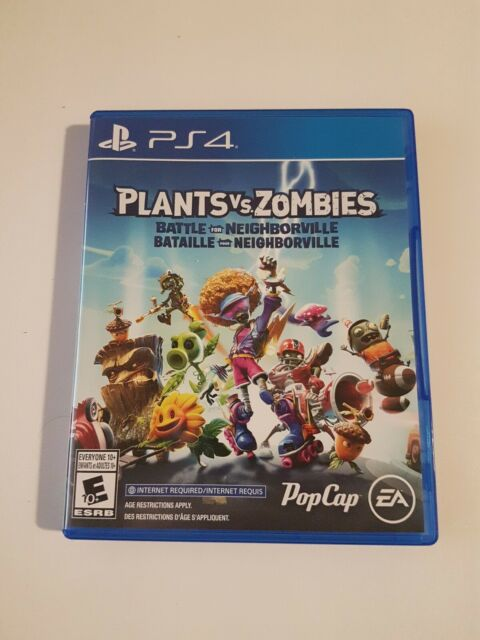 Plants vs Zombies: Battle for Neighborville (Sony PlayStation 4, PS4)