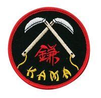 Double Kama Martial Arts Patch - 3 P1192