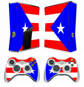Flag 266 Vinyl Decal Cover Skin Sticker For Xbox360 Slim And 2 Controller Skins Faceplates, Decals & Stickers