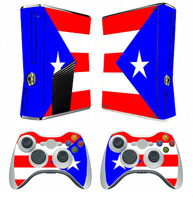 Video Games & Consoles Faceplates, Decals & Stickers Flag 266 Vinyl Decal Cover Skin Sticker For Xbox360 Slim And 2 Controller Skins