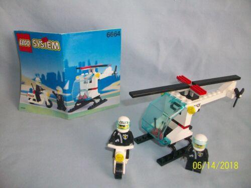 Lego Set 6664 Chopper Cops VINTAGE TOWN w// instructions 100/% complete