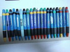 T) 20 Kugelschreiber/ Bigpens / BIGPEN, aus Sammlungsaufl., blau mit Werb ähnl