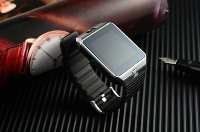 Newest Bluetooth Smart Watch DZ09 GSM SIM Card slot  for Android Phone black