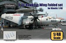 Wolfpack 1:48 E-2C Hawkeye Wing Folded Set for Kinetic - Resin Detail #WP48138