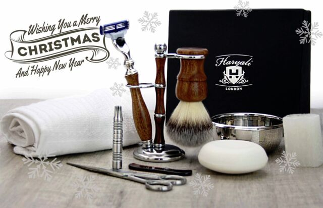 d3f49d2db06a 10 Pieces Luxury Men s Grooming Kit With Gillette Mach 3 Razor. as a ...