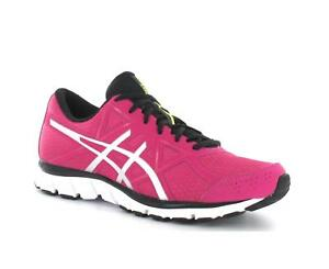 separation shoes 79714 c934f Image is loading Womens-ASICS-GEL-ATTRACT-3-Raspberry-Running-Trainers-