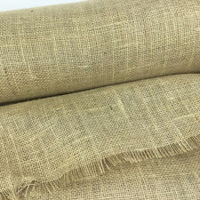 Christmas burlap jute hessian fabric sold per metre 40 inches wide 220gsm