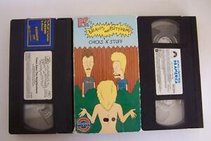Beavis & Butthead VHS Tape Lot #1