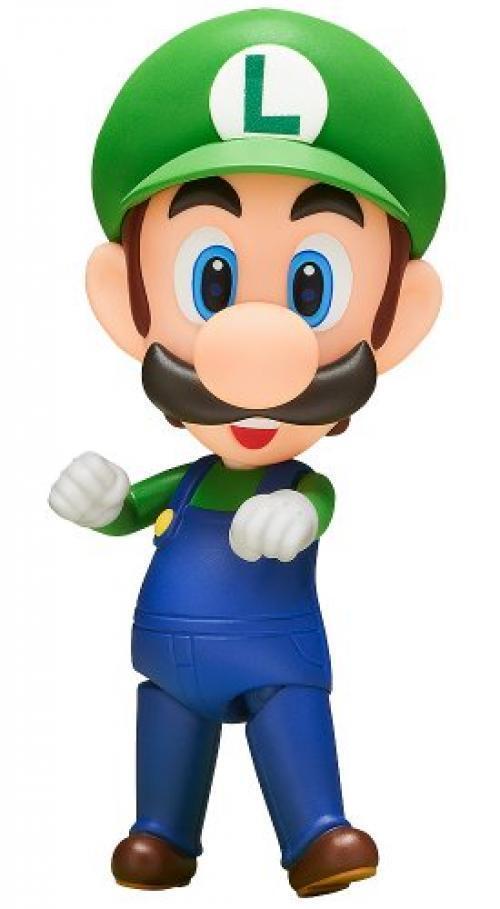 Nuevo Nendoroid 393 súper Mario Luigi Figura Good Smile Company de Japón