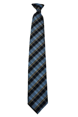 black line  checked tie Front length 21 inches white Men/'s dark gray with red