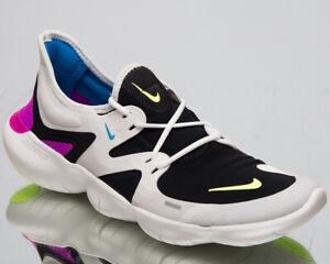 Detalles acerca de Nike RN 5.0 Hombre Nuevo Free cumbre Blanco Volt Negro  tenis de correr AQ1289-100- mostrar título original