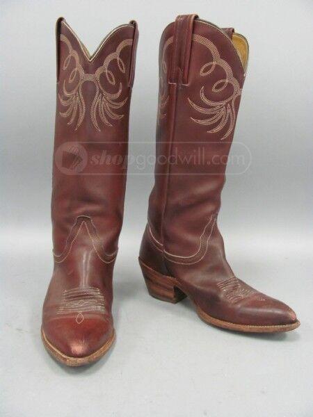 Frye Women's  Chestnut Leather Cowboy B Western Boots SZ 7.5 B Cowboy eca883