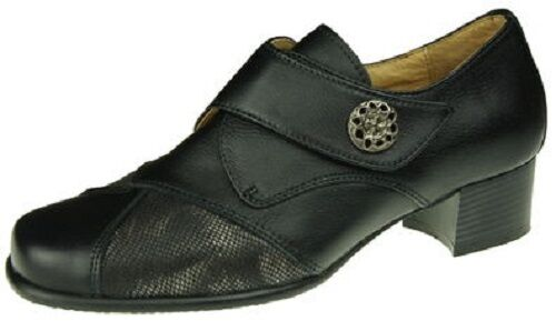 Wernecke Damen Komfortschuhe Schuhe Agnes schwarz Größe 41 Neu