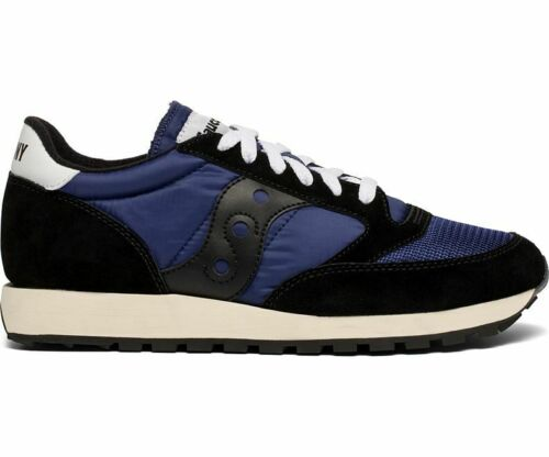 Saucony Originals Men/'s Jazz Original Vintage Sneaker Black//Navy Size 5