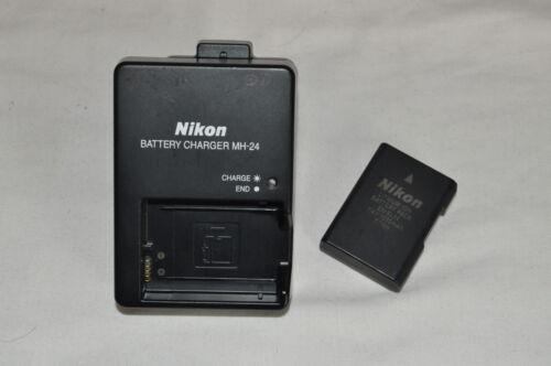MH-24//EN-EL14 Nikon Digital SLR D3100 D3200 D3300 Charger Battery Genuine