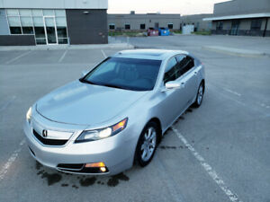 2012 Acura TL with Tech package