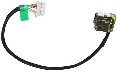 Dc Jack Cable Harness Socket for HP 15-BS 15-BW Laptops Replaces 931613-001