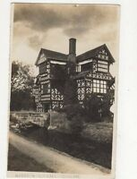 Moreton Old Hall Cheshire Vintage RP Postcard 265a