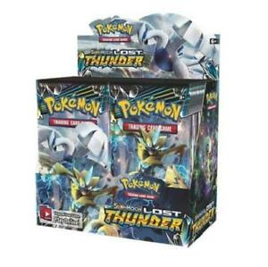 Pokemon-Lost-Thunder-Sun-amp-Moon-Booster-Box-Factory-Sealed