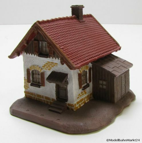 Model Railway 2-Story House Resin Wheel h0 1 87