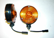New Safety Warning Light Pair 12 Volt For Ford New Holland Tractor Equipment