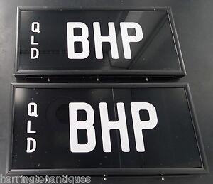 RARE-034-BHP-034-BREAK-HORSE-POWER-QUEENSLAND-NUMBER-PLATES