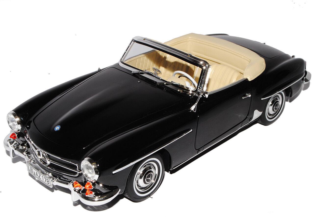 Mercedes-Benz 190SL cabriolet negro W121 1955-1963 1 18 Norev Norev Norev modelos coches o... 045a4b