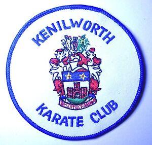 KENILWORTH Karate CLUB Martial Arts Uniform embroidered BADGE CLOTH PATCH - Cornwall, Cornwall, United Kingdom - KENILWORTH Karate CLUB Martial Arts Uniform embroidered BADGE CLOTH PATCH - Cornwall, Cornwall, United Kingdom