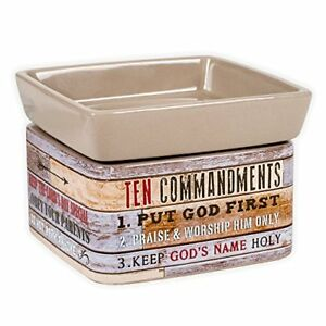Ten-Commandments-Pallet-Look-Ceramic-Stone-2-In-1-Jar-Candle-and-Wax-Tart-Warmer