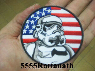 STAR WARS IMPERIAL ARMY STORMTROOPER GALAXY Patch Badge F