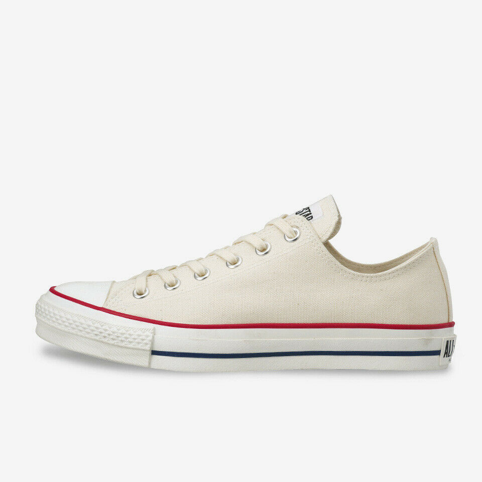 CONVERSE CANVAS ALL STAR J OX Natural bianca Chuck Taylor Limited Japan Exclusive