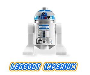 LEGO Minifigure Star Wars R2-D2 blue gray head sw217 minifig FREE POST