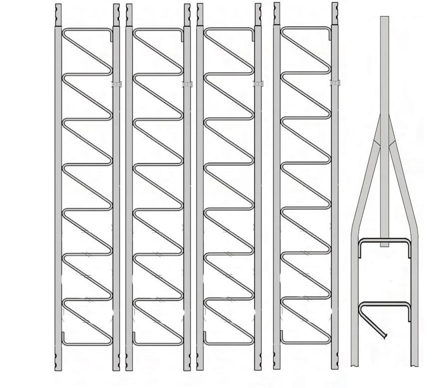 Rohn 25G Series 50' Basic Tower Kit. Available Now for 835.00