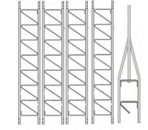 Details about Rohn 25G Series 50' Basic Tower Kit