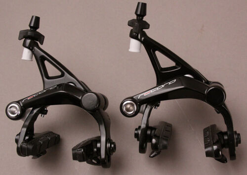 Black New In Box BR19-REDP Campagnolo Record Brakeset Dual Pivot Front and Rear