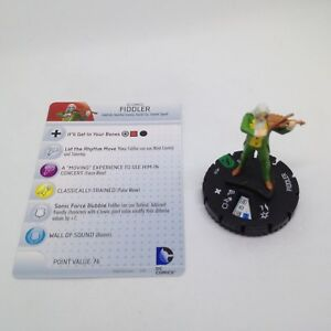 Heroclix-The-Flash-set-Fiddler-029-Uncommon-figure-w-card