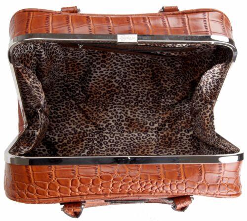 NEW Ladies Genunie LEATHER Grab BAG Sofia Fashion Charm Bag GIFT Classic Patent