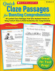 Quick Cloze Passages for Boosting Comprehension, Grades 2-3 by Scholastic US(Paperback / softback)